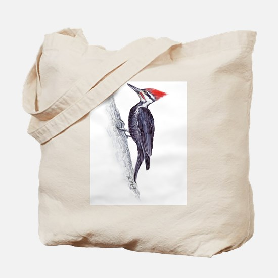 handsome pileated woodpecker Tote Bag