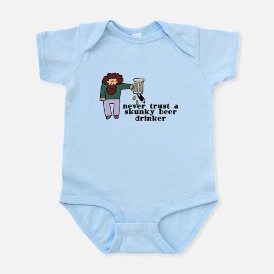 Skunky Beer Drinker Infant Bodysuit