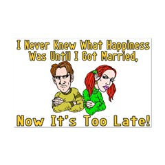 Too Late For Happiness Posters