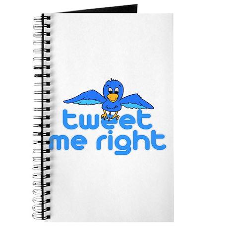 Tweet Me Right Journal