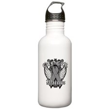 Brain Cancer Warrior Water Bottle