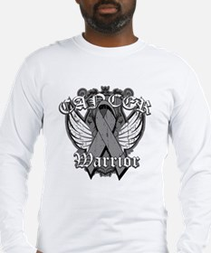 Brain Cancer Warrior Long Sleeve T-Shirt