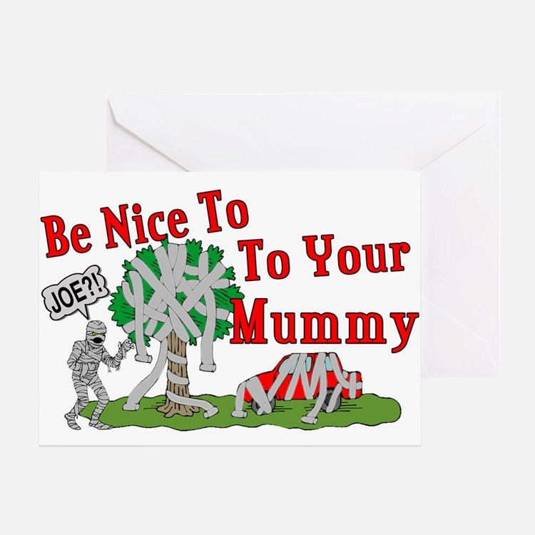 TP Mummy Greeting Card