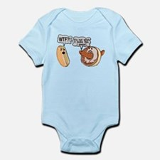 Doughnut Hole Infant Bodysuit