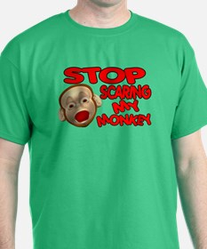 Scared Monkey T-Shirt
