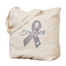 Strength - Brain Cancer Tote Bag