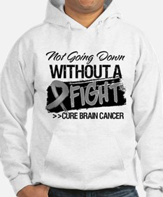 Not Going Down Brain Cancer Hoodie