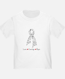 Brain Cancer Love Hope T
