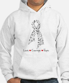 Brain Cancer Love Hope Jumper Hoody