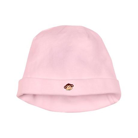 Mommy's lil monkey baby hat