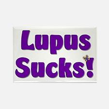 Lupus Sucks! Rectangle Magnet