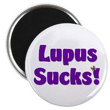 """Lupus Sucks! 2.25"""" Magnet (100 pack)"""