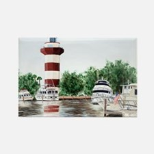 harbor town light Magnets