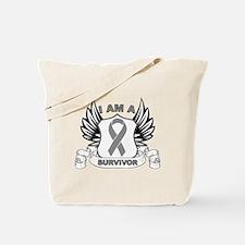 I'm a Brain Cancer Survivor Tote Bag