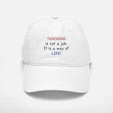 Teaching is Life Baseball Baseball Cap