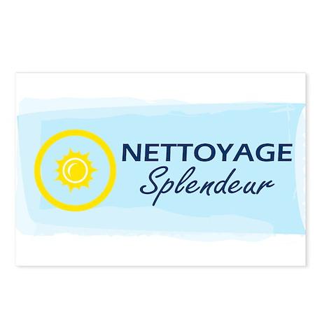 Netoyage Splendeur Postcards (Package of 8)