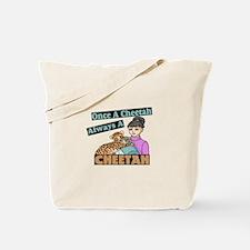 Once A Cheetah Tote Bag