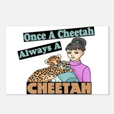 Once A Cheetah Postcards (Package of 8)