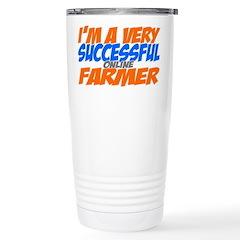 Online Farmer Stainless Steel Travel Mug