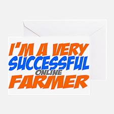 Online Farmer Greeting Card