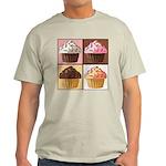 Pop Art Cupcake Light T-Shirt