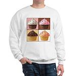 Pop Art Cupcake Sweatshirt