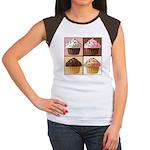Pop Art Cupcake Women's Cap Sleeve T-Shirt