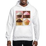 Pop Art Cupcake Hooded Sweatshirt