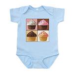 Pop Art Cupcake Infant Bodysuit