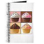 Pop Art Cupcake Journal