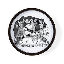 Daiker's Logo Wall Clock