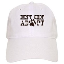 Don't Shop Adopt Baseball Cap