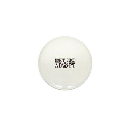 Don't Shop Adopt Mini Button (100 pack)