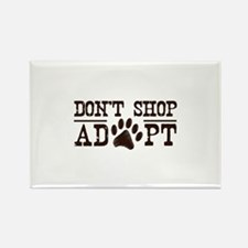 Don't Shop Adopt Rectangle Magnet (100 pack)