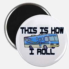 "How I Roll RV 2.25"" Magnet (10 pack)"
