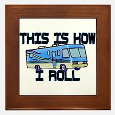 How I Roll RV Framed Tile