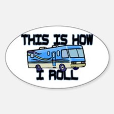 How I Roll RV Decal