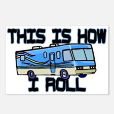 How I Roll RV Postcards (Package of 8)