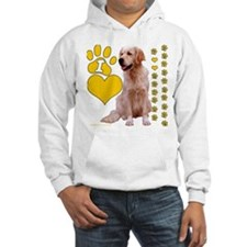"""I love Golden Retrievers"" Jumper Hoody"
