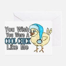 Cool Chick Like Me Greeting Card