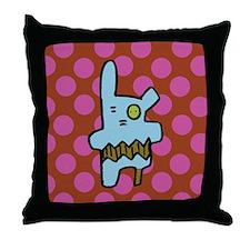 peg-leg pete cotton Throw Pillow