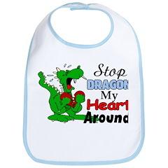 Dragon My Heart Bib