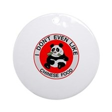 I Hate Chinese Food Ornament (Round)