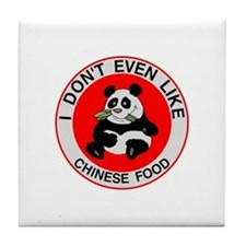 I Hate Chinese Food Tile Coaster