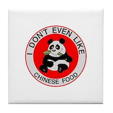 I Hate Chinese Food Tile Coaster