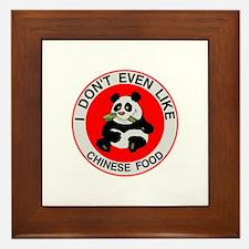 I Hate Chinese Food Framed Tile