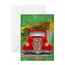 Holiday Road Kill Greeting Card