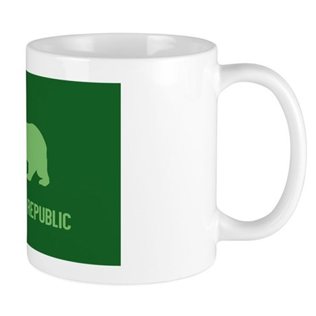 California Weed Flag Mug