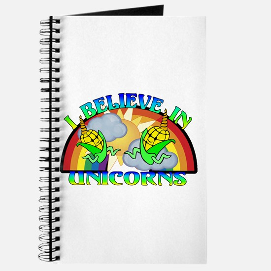 I Believe In Unicorns Journal