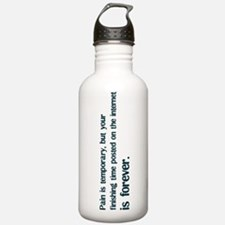 Pain is Temporary Sports Water Bottle